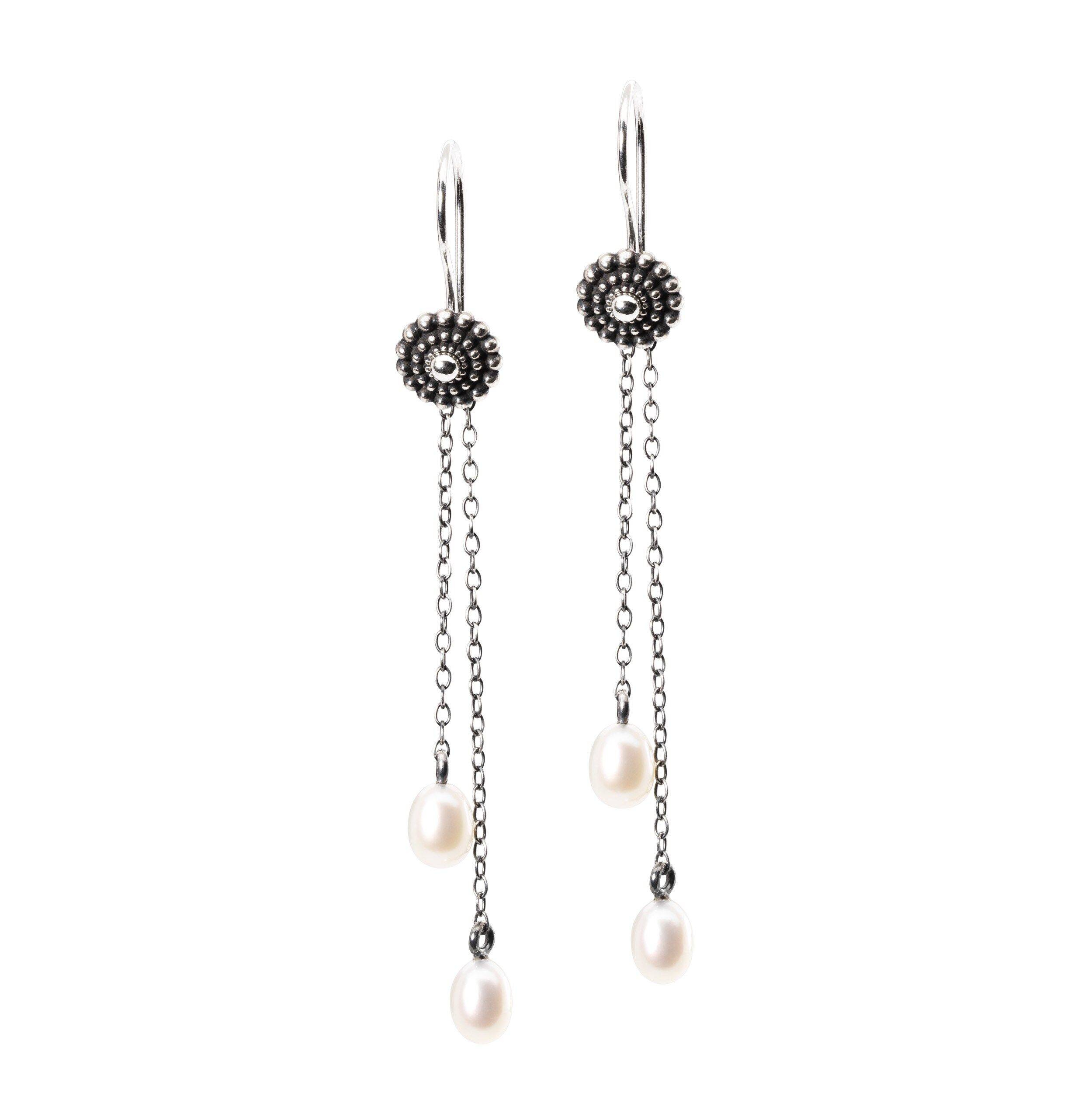 Cercei Element Lanț cu Perlă