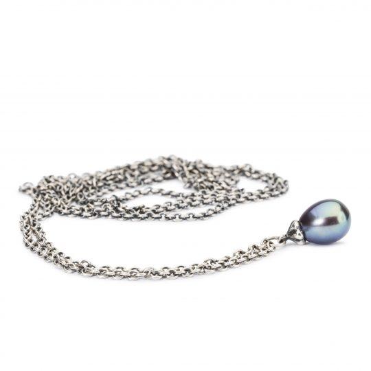 Colier Fantasy cu Perlă Păun